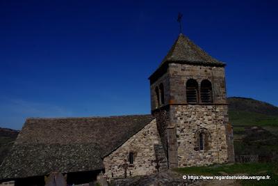 L'église haute de saint-Floret, Puy-de-Dôme