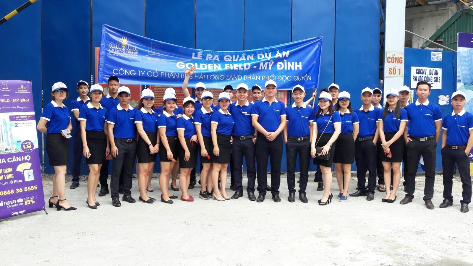 Hình ảnh Hải Long Land ra quân dự án thuộc BQP - MBLand Mỹ Đình