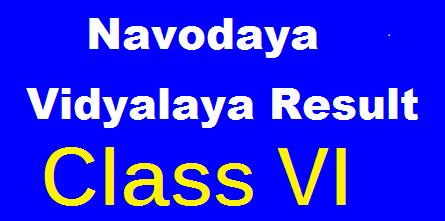 Navodaya Vidyalaya Result 2020 Class 6