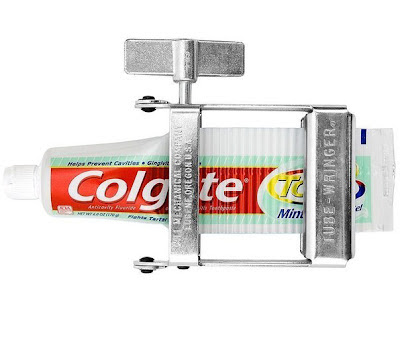 Erfindungen dumme Ideen Zahnpasta lustige Bilder