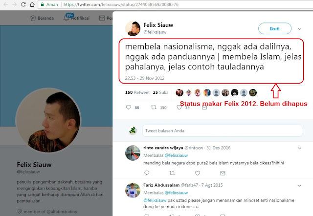 Mempertanyakan Anti-Nasionalisme Felix Siauw, Sudah Kaffah Belum?