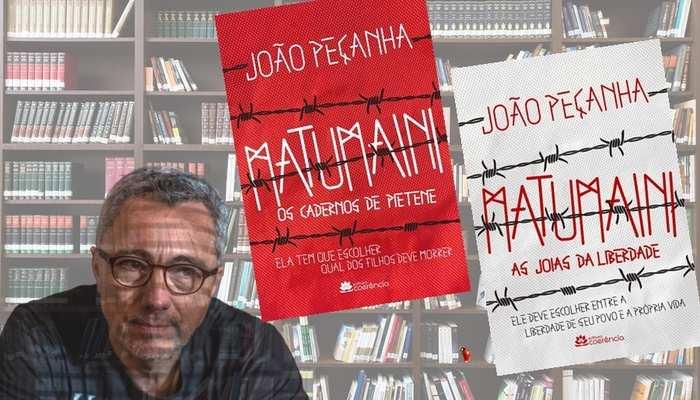 """João Peçanha anunciou Matumaini, uma duologia composta por """"Os cadernos de Pietene"""" e """"As três joias da liberdade""""."""