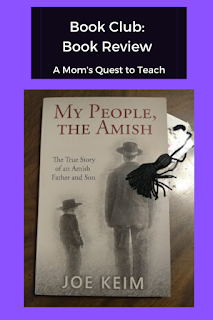 book cover of My People, The Amish