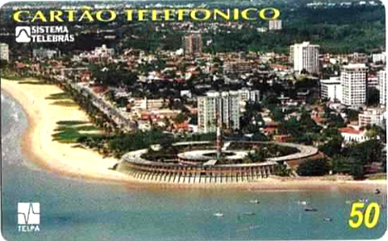 Cartão telefônico - Telpa - Hotel Tambaú