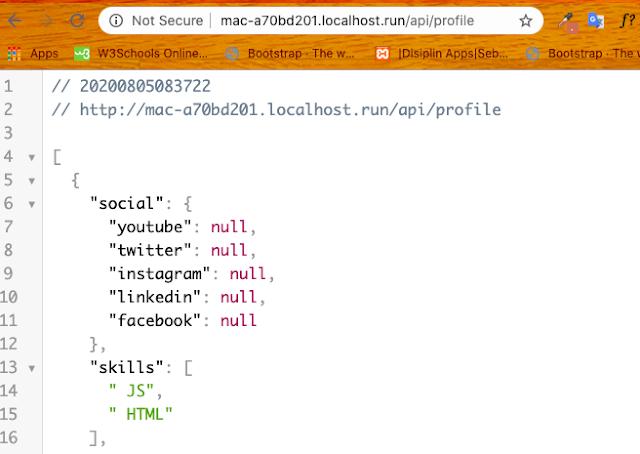 Tutorial Simple Publish Localhost Dengan Localhost.run
