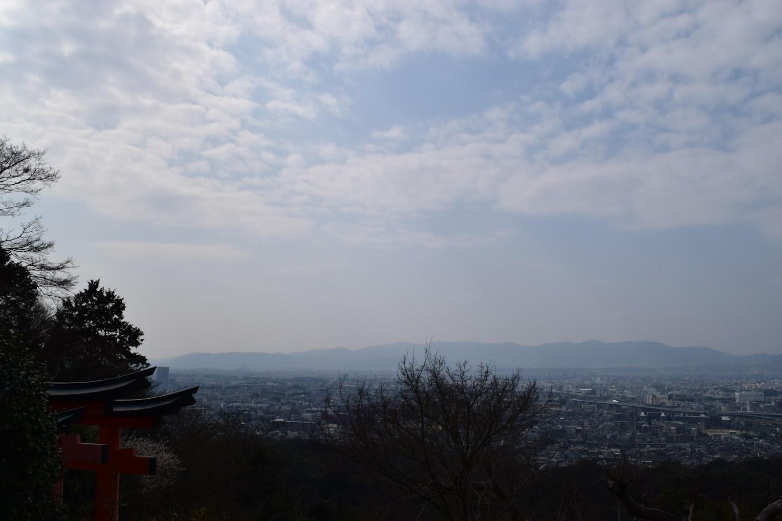 Inari yama view
