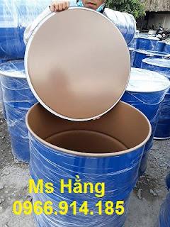 Thùng phuy sắt nắp kín 220 lít,thùng phuy sắt nắp hở 220 lít