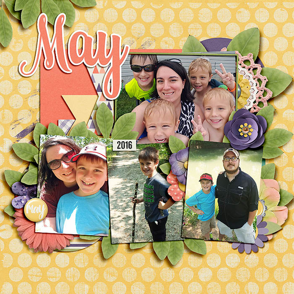 Digital Scrapbooking May 2016