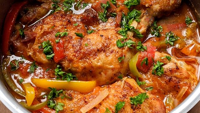 recette, poulet basquaise, traditionnel, les secrets de la recette