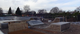 The Alexandra Park Skate and BMX Park in Edgeley Stockport