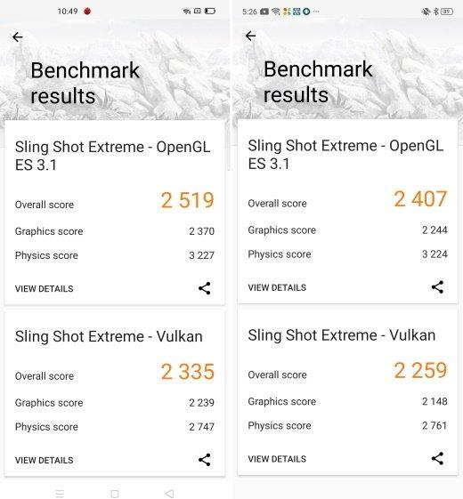 3Dmark Snapdragon 720G vs Snapdragon 730G