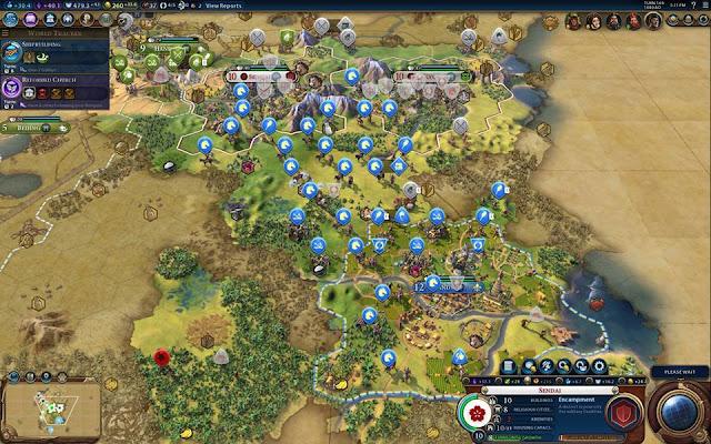 Civilization 6 Screenshot - France Army