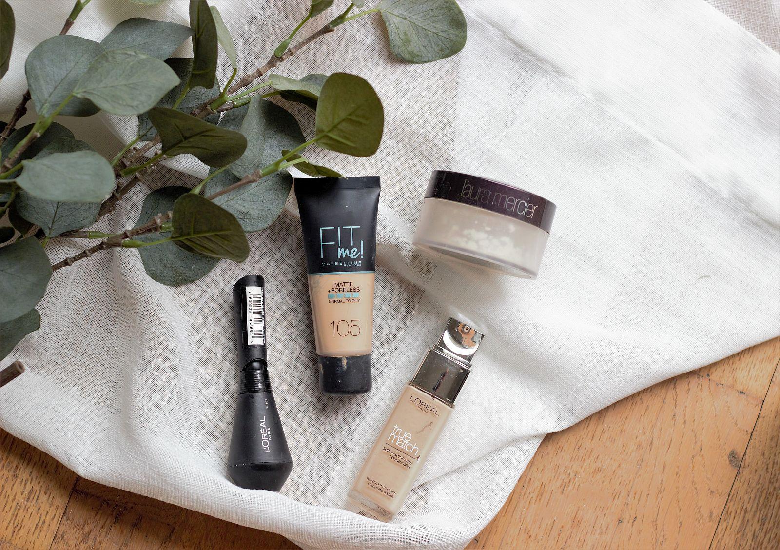 Empties - makeup - L'oreal, Maybelline, Laura Mercier