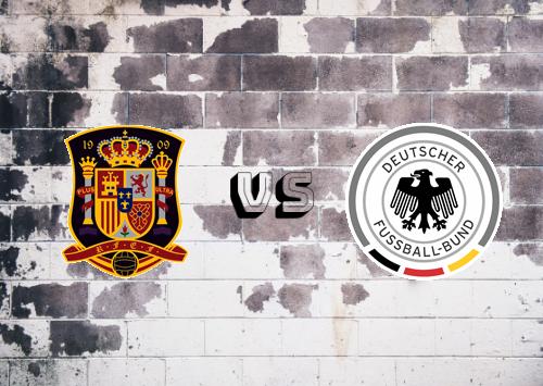 España vs Alemania  Resumen y Partido Completo