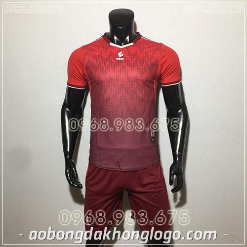 Áo bóng đá ko logo Egan Cli màu đỏ