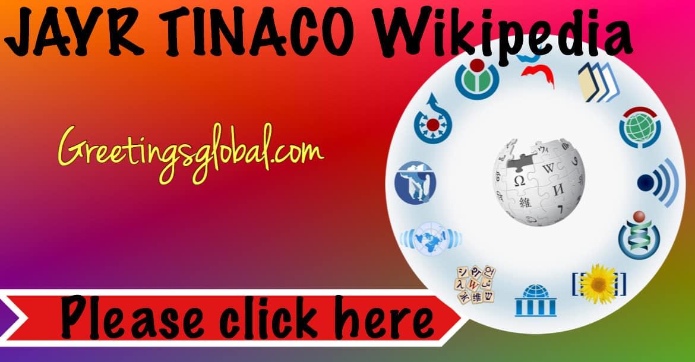 JAYR TINACO Wiki