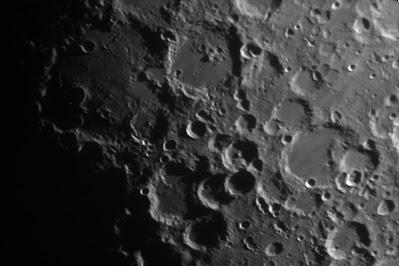 Lluna de 7,5 dies. zona cràters Walter i Stofler - 28/06/2020