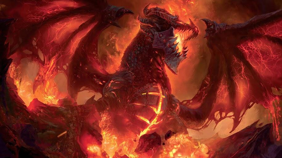 Fantasy, Dragon, World of Warcraft, 4K, #3.2700