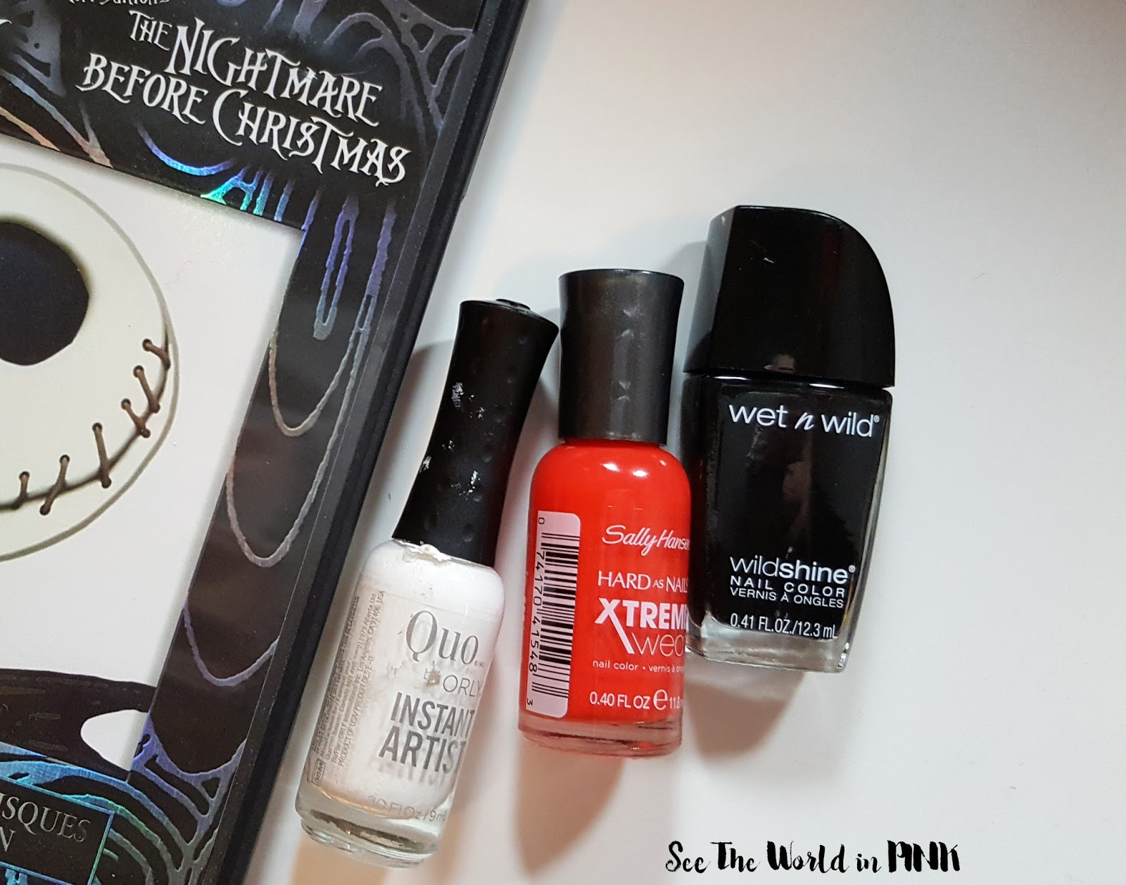 Manicure Wednesday - The Nightmare Before Christmask Jack ...
