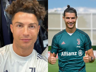 Cristiano Ronaldo Shows Off New Hair Style