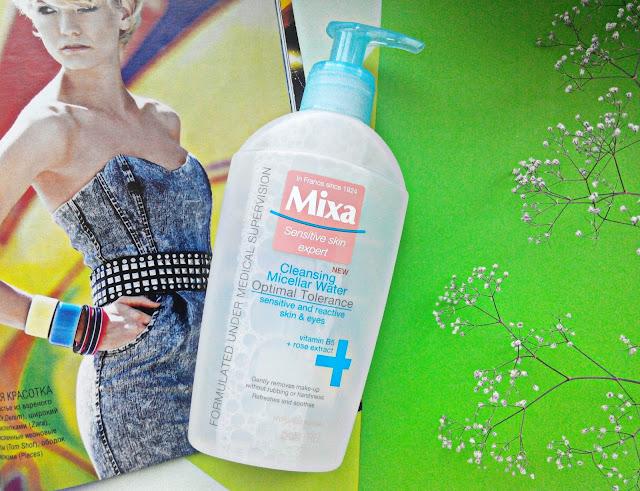 Mixa Cleansing Micellar Water Очищающая мицеллярная вода