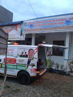 Ambulance PKS Bersama Bang Ridho