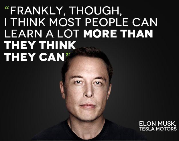 Top Inspirational Elon Musk sayings