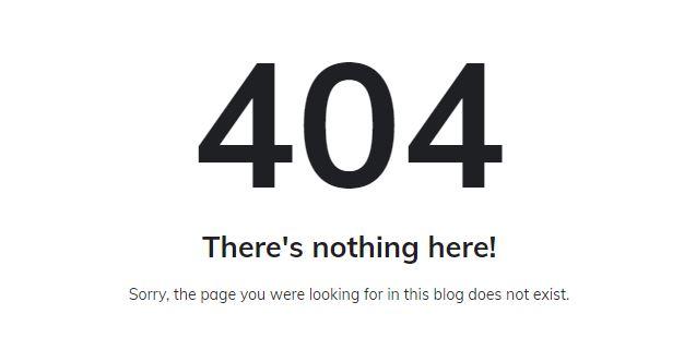 Cara Mengalihkan 404 Error Page Not Found ke Homepage di Blogger
