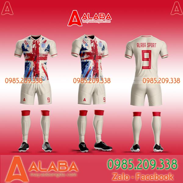 Áo bóng đá tuyển Anh đẹp