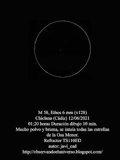 Galaxia M 58