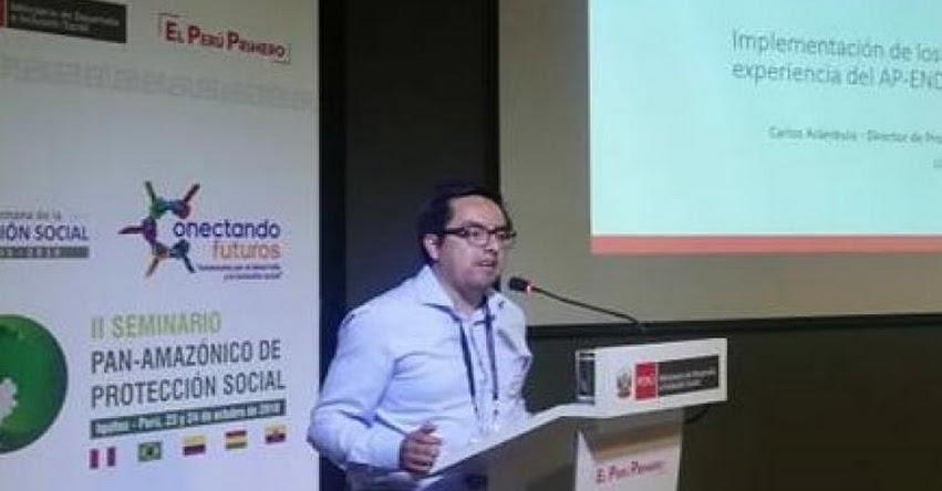 Carlos Arámbulo es el nuevo gerente ejecutivo del FONDEP - www.fondep.gob.pe