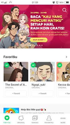 5 Komik Line Webtoon Ini Mengajarkan Berusaha Menjadi Versi Terbaik Dari Diri Kita