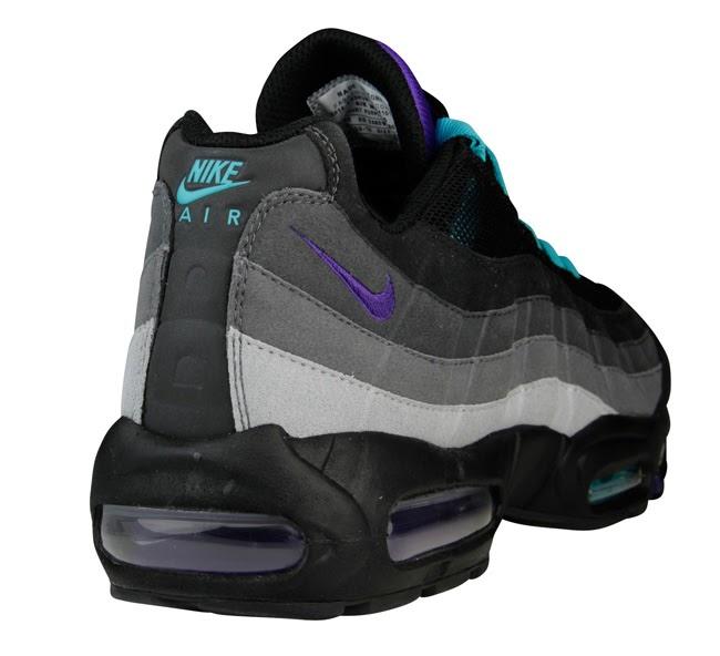 "wholesale dealer 13aa6 b9e50 TODAYSHYPE: Nike Air Max 95 ""Black Grape"""