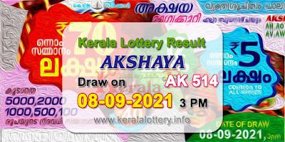kerala-lottery-results-today-08-09-2021-akshaya-ak-514-result-keralalottery.info