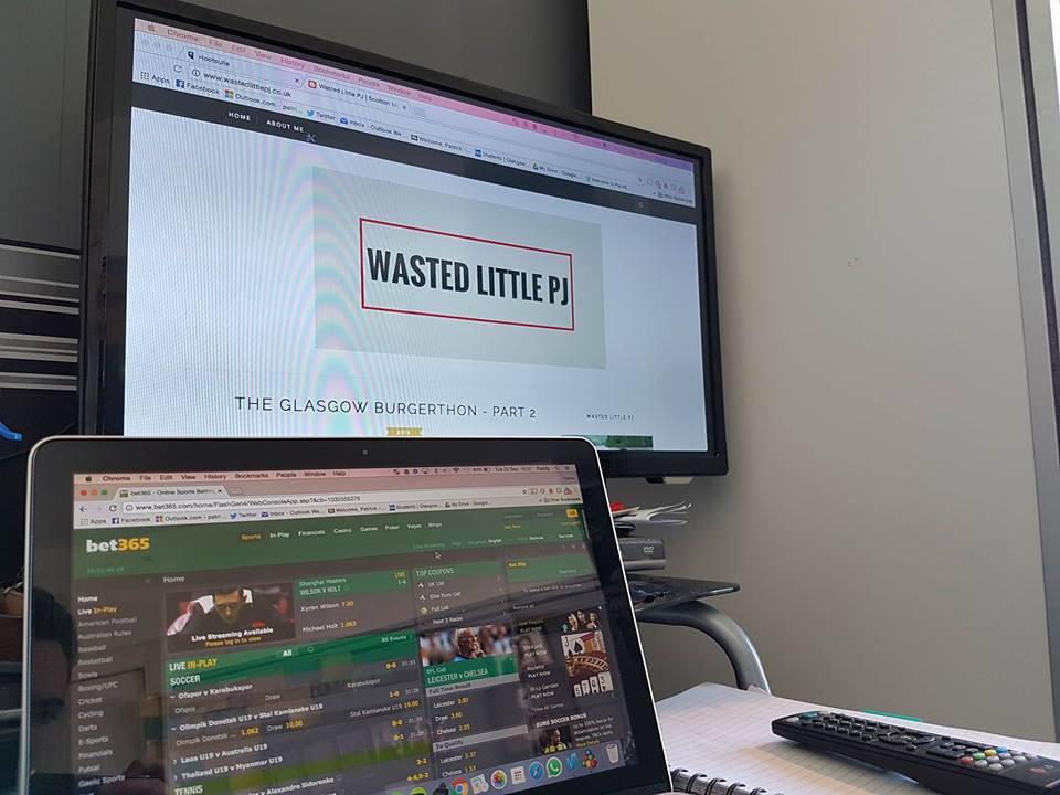 Bet 365 in-play offer | Wasted Little PJ Scottish Male Lifestyle Blog