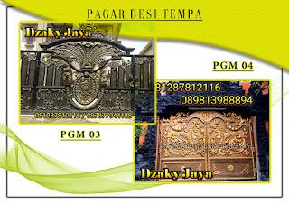 Katalog pintu gerbang besi tempa, pintu gerbang klasik mewah 03