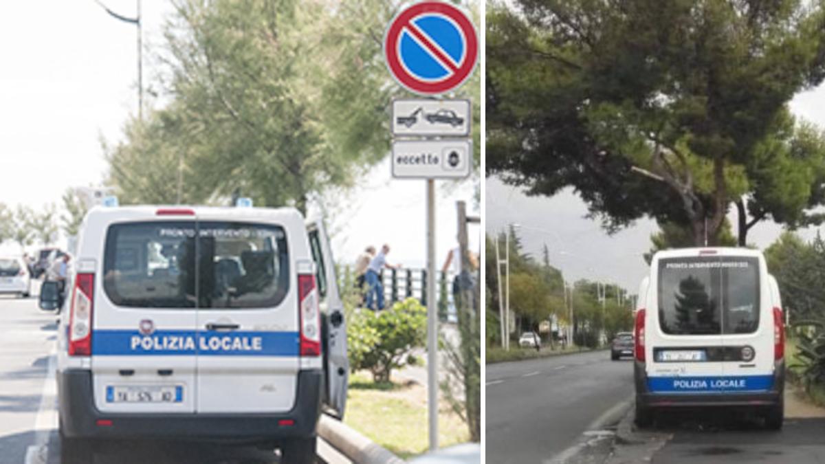 Polizia Municipale autovelox presidi mobili