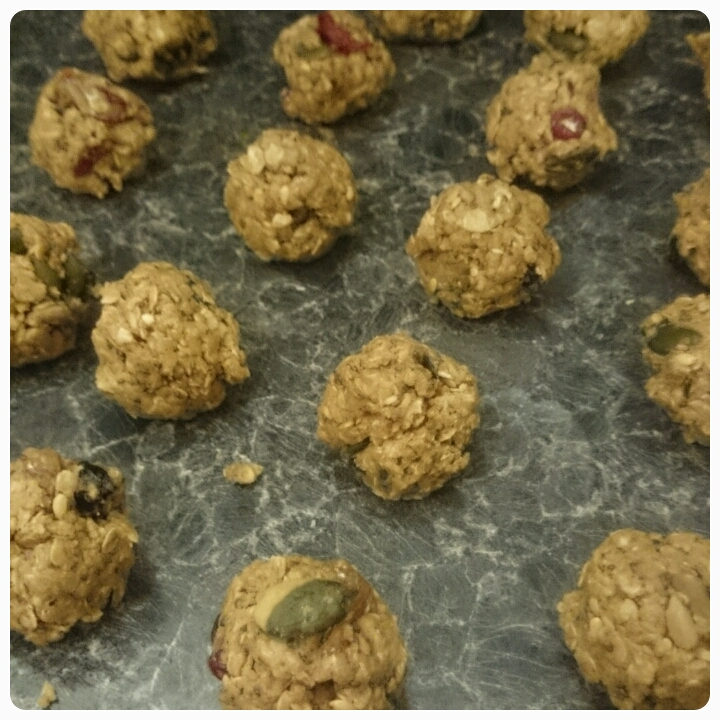 protein snack ball preparation