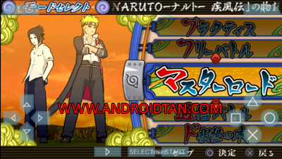 Download Naruto Shippuden Narutimate Accel 3 ISO/CSO PPSSPP Android Terbaru 2017