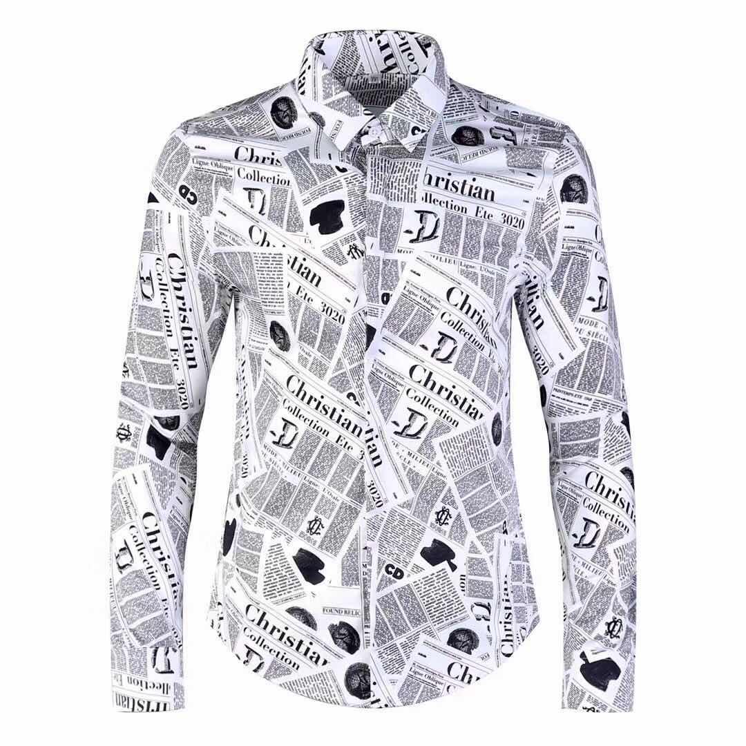 Newspaper shirt - Dior