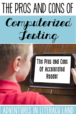 Accelerated Reader is a commonly used program in many elementary school. This post looks at the pros and cons of computerized testing.