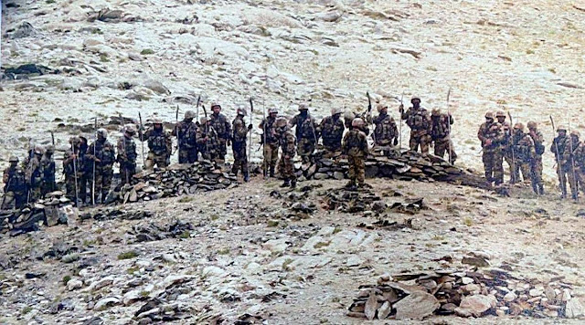 India vs china Border shots fired