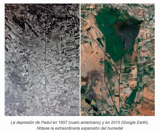 Padul (Granada), un humedal a contracorriente