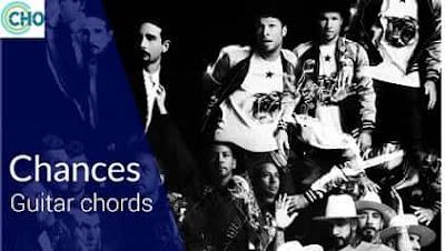 CHANCES guitar chords Accurate | BACKSTREET BOYS