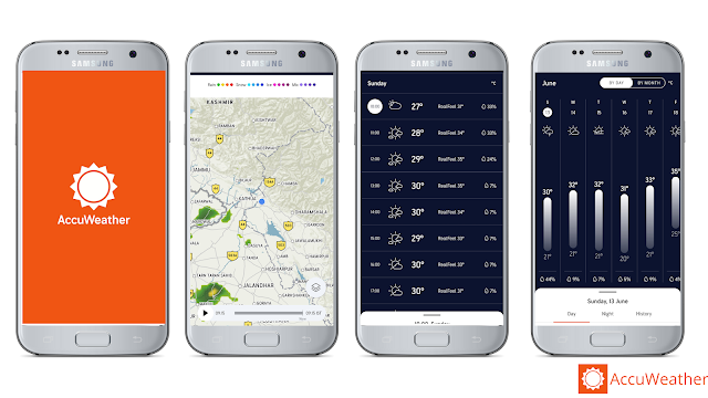 AccuWeather, best weather app for Android
