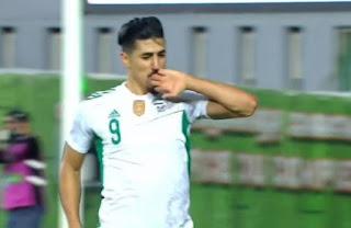 فيديو - الجزائر تفوز امام زيمبابوي بثلاثية