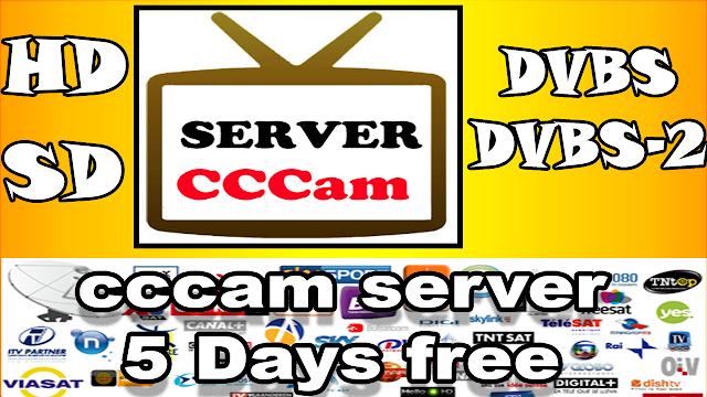 سيرفر مجاني قوي 2019 free cccam servers for 5 days