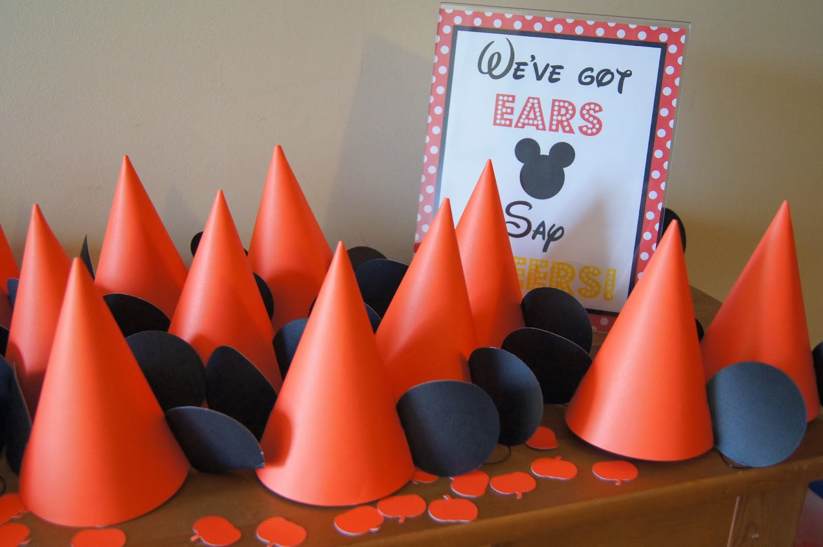 Halloween Mickey Party Hats
