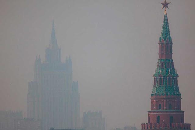 Гринпис: Москву окутал дым из Сибири Сергиев Посад