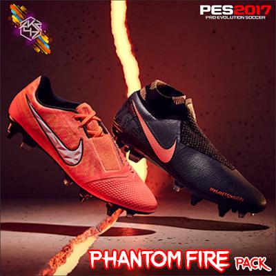 PES 2017 Phantom Fire Pack by AKC_47